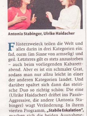 Kritik Falter 2017